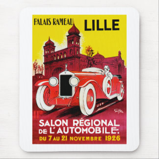 Lille ~ Salon Regionale de L'Automobile Mousepads