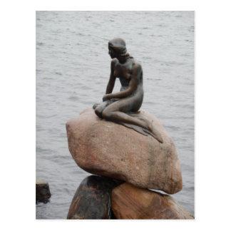 Lillehavefru kleine Meerjungfrau Kopenhagen Postkarte