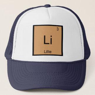 Lillie Namenschemie-Element-Periodensystem Truckerkappe