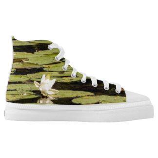 Lilly Auflage Hoch-geschnittene Sneaker