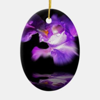 lily ovales keramik ornament