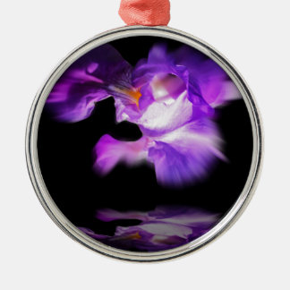 lily silbernes ornament