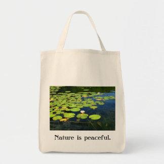 Lilypad Taschen-Tasche Einkaufstasche