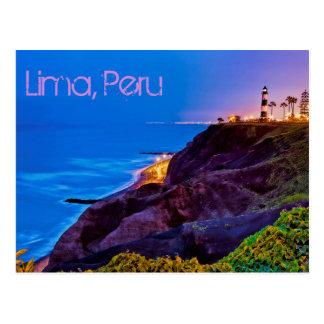Lima, Peru, Miraflores Bezirk, S.A. Postkarte