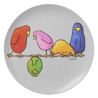 LimbBird Platte Melaminteller