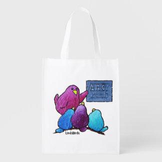 LimbBirds wiederverwendbare Einkaufstüte Wiederverwendbare Einkaufstasche