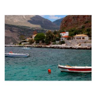 Limeni Bucht, Griechenland Postkarte