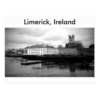 Limerick-Stadt, Irland Postkarte