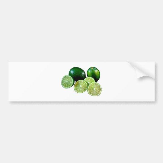 Limetten limes fruits autoaufkleber
