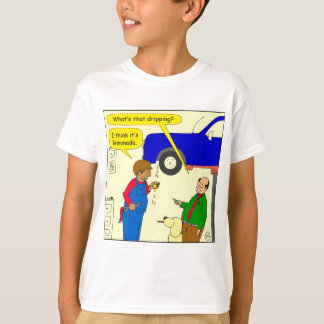 Limonade-Cartoon mit 695 Autos T-Shirt