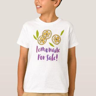 """""""Limonade für Verkauf"""" das TS06 der T-Shirt"""