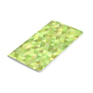 Limone Dreiecke Taschennotizbuch
