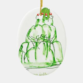 Limone Geleekatze der tony fernandess Keramik Ornament
