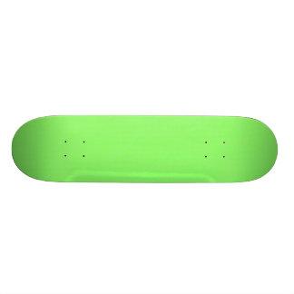 Limone grüne Beschaffenheit Individuelles Skateboard