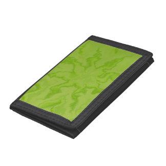 Limone grüne Fraktal-Muster-Geldbörse