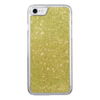 Limone grüne Glitter-Glitzern Carved iPhone 8/7 Hülle