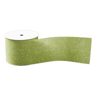 Limone grüne Glitter-Glitzern Ripsband