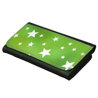 Limone grüne und weiße Sternchen-Vereinbarung