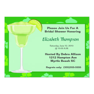 Limone Margarita-Brautparty-Party Einladung