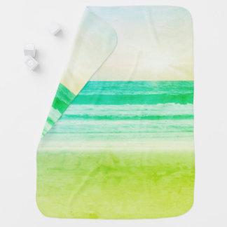 Limoner grüner Aquasonnenuntergang, der Decken