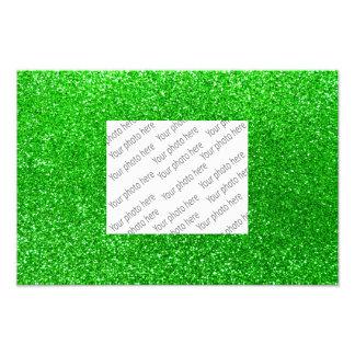 Limoner grüner Glitter Photographien