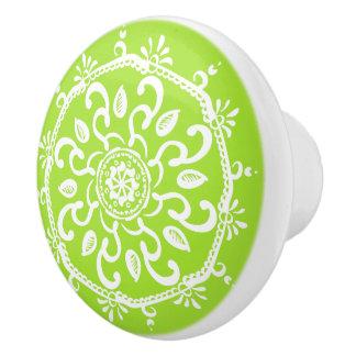 Limoner Mandala Keramikknauf