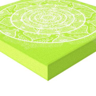 Limoner Mandala Leinwanddruck