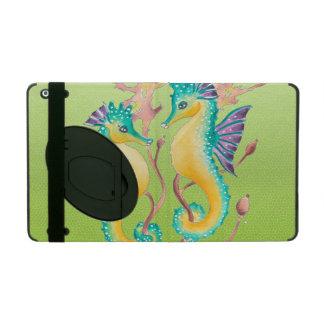 Limones beflecktes Glas der Seepferde Schutzhülle Fürs iPad
