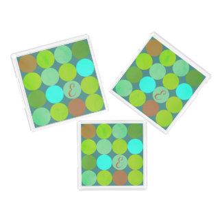 Limones grünes aquamarines Türkis-u. Acryl Tablett
