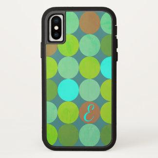 Limones grünes aquamarines Türkis-u. iPhone X Hülle