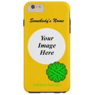 Limones grünes Blumen-Band Tmpl durch Kenneth Tough iPhone 6 Plus Hülle