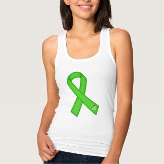 Limones grünes Herz-Bewusstseins-Band T Shirt