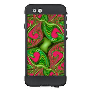 Limones grünes rosa Fraktal Gnarl LifeProof NÜÜD iPhone 6 Hülle