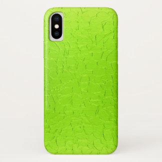 Limones rostfreier Stahl-Metall iPhone X Hülle