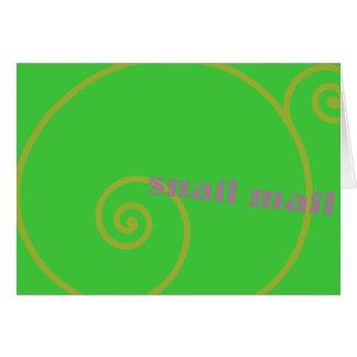 Limones snail mail karte