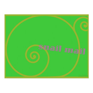 Limones snail mail postkarte