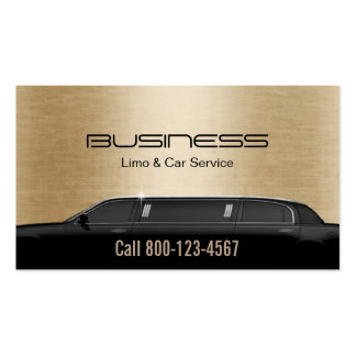 Limousinen-Limousinen-u. Auto-Service-modernes Visitenkarten