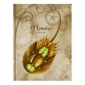 Limulus Submarine Postkarte