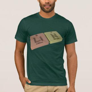 Lin als Lithium Li und Stickstoff N T-Shirt