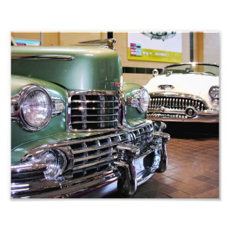 Lincoln 1948 konvertierbar u.! 953 Buick Skylark Foto Drucke