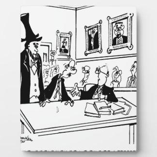 Lincoln-Cartoon 5488 Fotoplatte