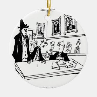 Lincoln-Cartoon 5488 Keramik Ornament