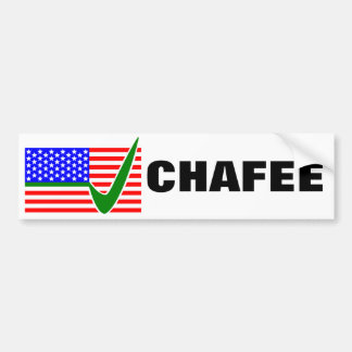 Lincoln Chafee für Präsidenten 2016 Autoaufkleber
