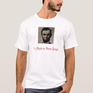 Lincoln das Recht, Reißzähne zu tragen T-Shirt
