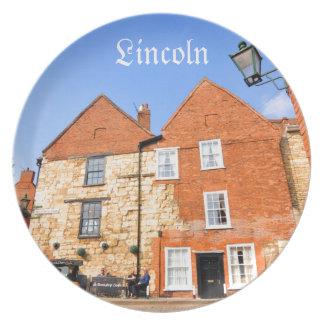 Lincoln, England Melaminteller