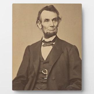 Lincoln Fotoplatte