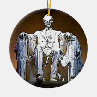Lincoln II Keramik Ornament