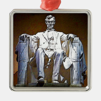 Lincoln II Silbernes Ornament
