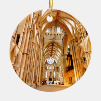 Lincoln-Kathedrale Keramik Ornament