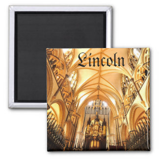 Lincoln-Kathedrale Quadratischer Magnet